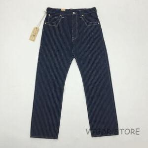 Bob Dong Vintage Men/'s 13oz Calico Pants Overalls Straight Casual Suit Pants
