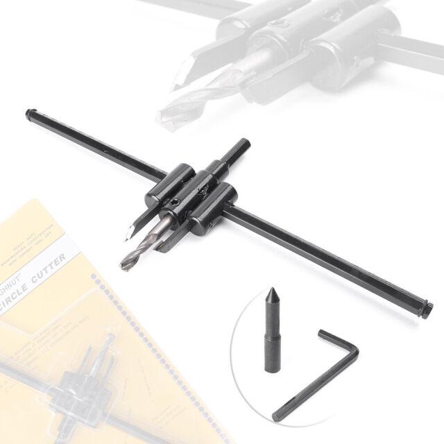 Adjustable Metal Wood Circle Hole Saw Drill Bit Cutter Kit DIY Tool 30mm-300mm
