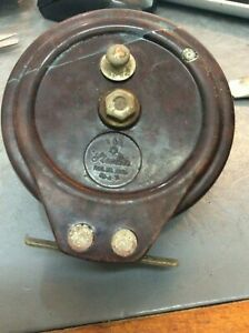 Vintage-Australian-Made-Fishing-Reel-Steelite-Bakerlite
