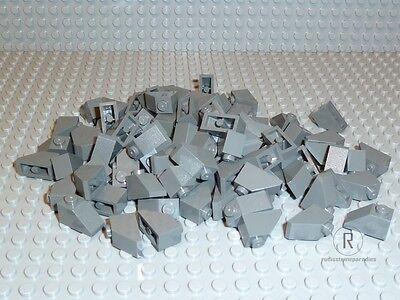 10 x LEGO® 3040 Systemsteine,Dachsteine in schwarz 1x2//45° Neuware