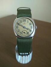 VINTAGE TRENCH OMEGA SOLID SILVER 925 WW1 WORLD WAR WATCH