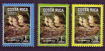 intern: 39 Costa Rica Michelnummer 1029-1031 Postfrisch Angenehm Im Nachgeschmack