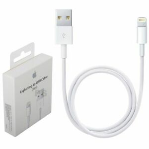 Cable Cargador para iPhone 11 SE XS X 8 7 5S XR 6 6S Plus Pro Max 2M 3M Original