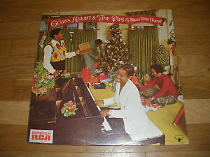 GLADYS KNIGHT AND THE PIPS bless this house christmas LP Record - sealed 658504103286   eBay