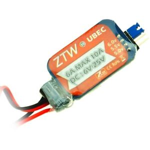 ztw 6a bec ubec universal battery eliminator circuit for rc models rh ebay com