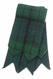 Hommes Kilt Accesoire Montre Noir Écossais / Flashes De Chaussettes Tartans