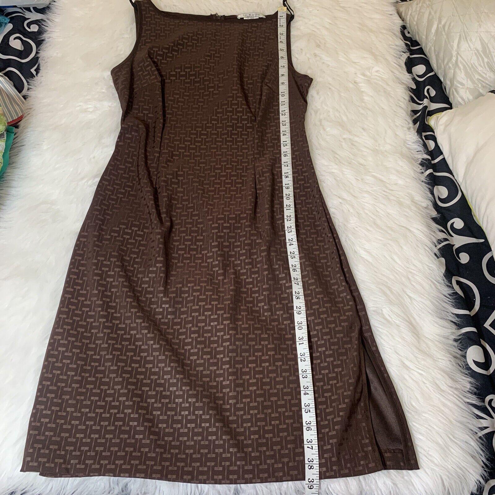 1990's Vintage Daisy Black & White Maxi Dress By … - image 8