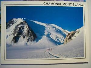 Postkarte Frankreich, Alpen, Chamonix Mont-Blanc - Meißen, Deutschland - Postkarte Frankreich, Alpen, Chamonix Mont-Blanc - Meißen, Deutschland