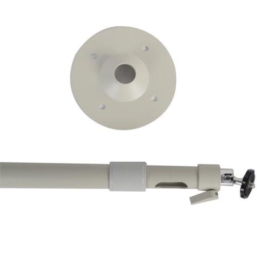 Aluminum Security Camera Ceiling Mount Bracket Length Adjustable CCTV Stand BMZ