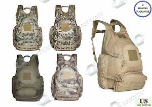 67803b592896 Details about 40L Outdoor Urban Tactical Backpack Military Camping Hiking  Trekking Bag 09246