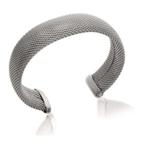 Bracelet-Jonc-rigide-ouvert-en-acier-Inoxydable-Bijoux
