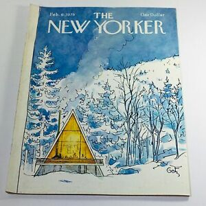The-New-Yorker-February-6-1978-Full-Magazine-Theme-Cover-Arthur-Getz