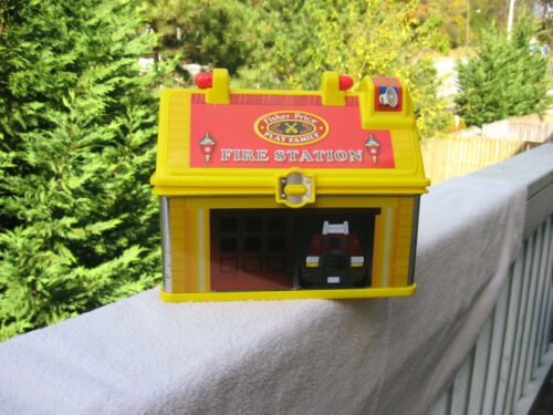 Fisher Price Little People Fire Station Lunch Box 2008
