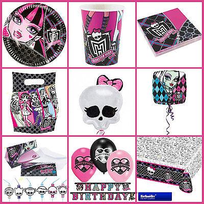 *Monster High* Alles zum Kindergeburtstag - Geburtstag Party Deko Motto -> GIRLS