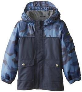 Osh Kosh B/'gosh Big Boys Grey Puffer Outerwear Coat Size 8 10 12 14 $85