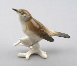 Karl-Ens-Volkstedt-Porcelain-Germany-Warbler-Figurine-7437