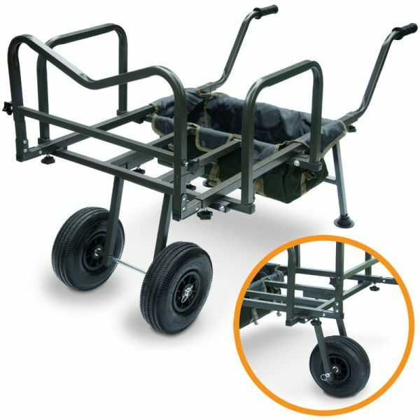 Nuevo XXL trolley Barrow Cochero de transporte para Cocheryall, karpfenliege & Tackle