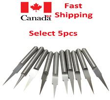 5 Tungsten Drill Bits Engraving CNC Set Carving Metal Wood Glass micro mini big