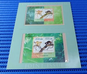 Australia-Indonesia-Joint-Issue-Australian-amp-Indonesian-Miniature-Sheet-w-Folder