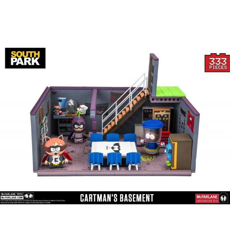 South Park jeu de construction Deluxe Cartman's Basement