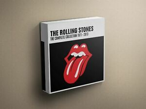 The-Rolling-Stones-034-The-Complete-1971-2013-034-Cover-Art-Canvas-Art-Print-011513