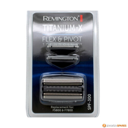 F5800 F7800 F7805 UK Verkäufer Remington Titan X SPF-300 Folie und Knipser
