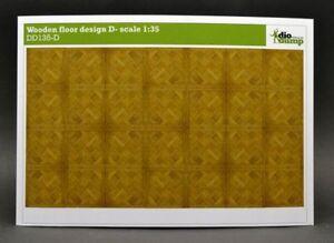 DioDump-DD135-D-Wooden-floor-design-D-1-35-scale-diorama-building-accessories