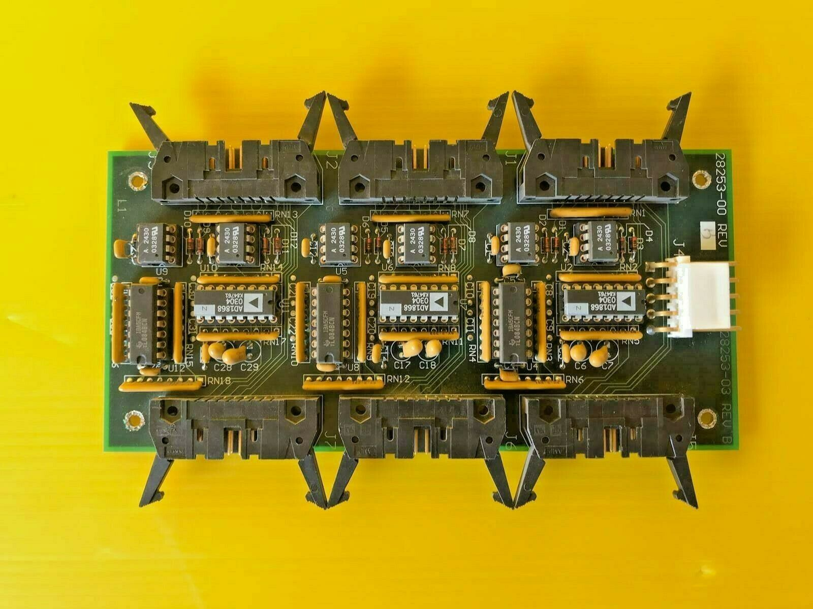 Dover Instrument Corp 28253-03 REV B 3-Chnl D A Converer 28253-00