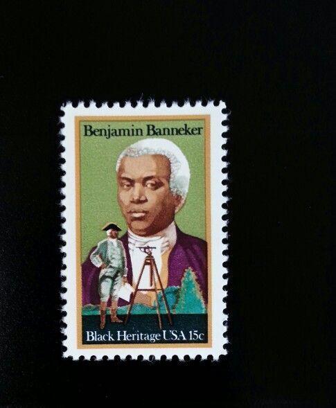 1979 15c Benjamin Banneker, African American Scientist