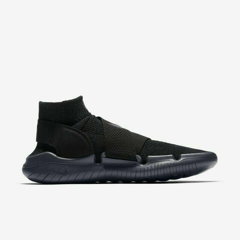 218e301ceb876 Nike Free RN Motion Motion Motion Flyknit 2018 Black Anthracite 942840-002 Men s  Running-