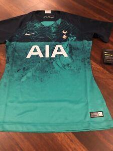New-Nike-Women-s-Tottenham-Hotspurs-Soccer-Jersey-Size-Small-Teal-Navy