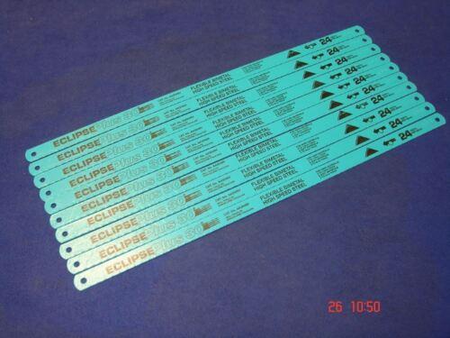 "10 x Eclipse Plus 30 Flexible Bi-Metal HSS Hacksaw Blades 12/"" 24 Tpi AA3046V"