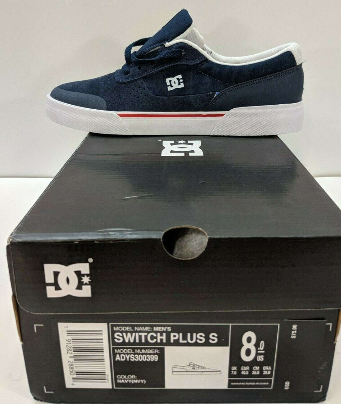 Skate Shoes Adys300399 DC Shoes Mens Shoes Switch Plus S