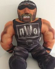 WCW NWO HOLLYWOOD HULK HOGAN TOY BIZ BASHIN BRAWLERS WRESTLING BUDDY 1998