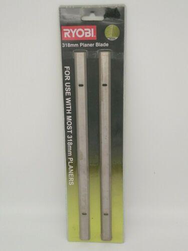 NEW Ryobi Planer Thicknesser Blades Double Edged 317mm 318mm 319mm 18.2mm 3.2mm