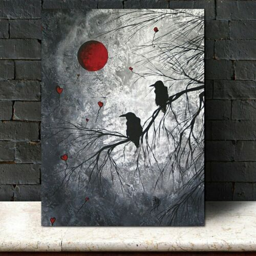 Canvas Painting Birds On Tree Art Print Wall Picture Art Cuadros Home Decoration