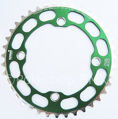 Porkchop BMX Chop Saw I single speed bicycle chainring 39T 110//130mm bcd GREEN