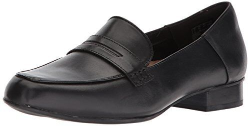 Clarks donna Keesha Cora Penny Loafer 7 Wide US- Pick SZ Coloree.