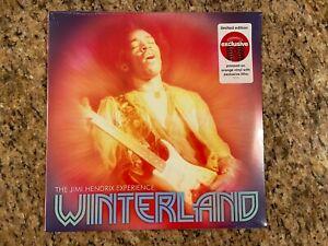 Jimi Hendrix Winterland Target Exclusive Orange Colored Vinyl NEW