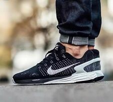 NIKE LUNARGLIDE 7 Running Trainers Shoes Gym - UK 7.5 (EUR 42) RRP £110 - Black