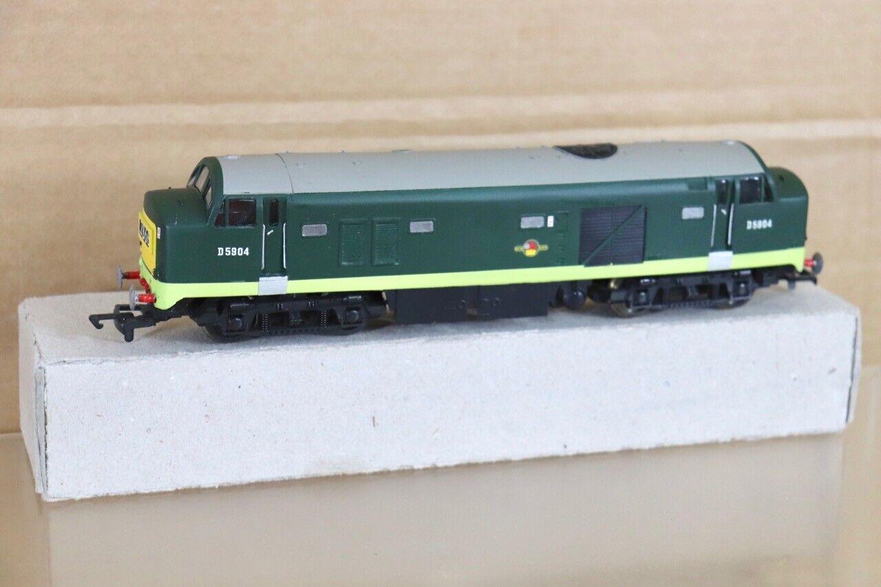 plata Fox Modelos Lima Re Pintado Br Bebé Deltic Clase 23 Diesel Loco D5904 NT