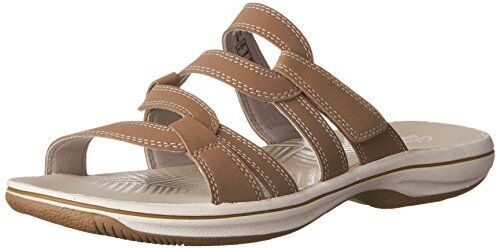 Clarks women's brinkley lonna slide sandal black 7 m us