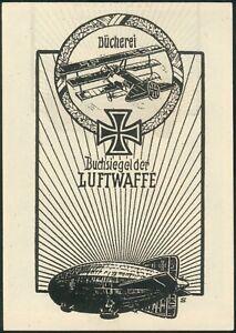 Buchsiegel-der-Luftwaffe-Heimat-Beleg-Janessen-mit-15-Pfennig-Entgelt-geprueft