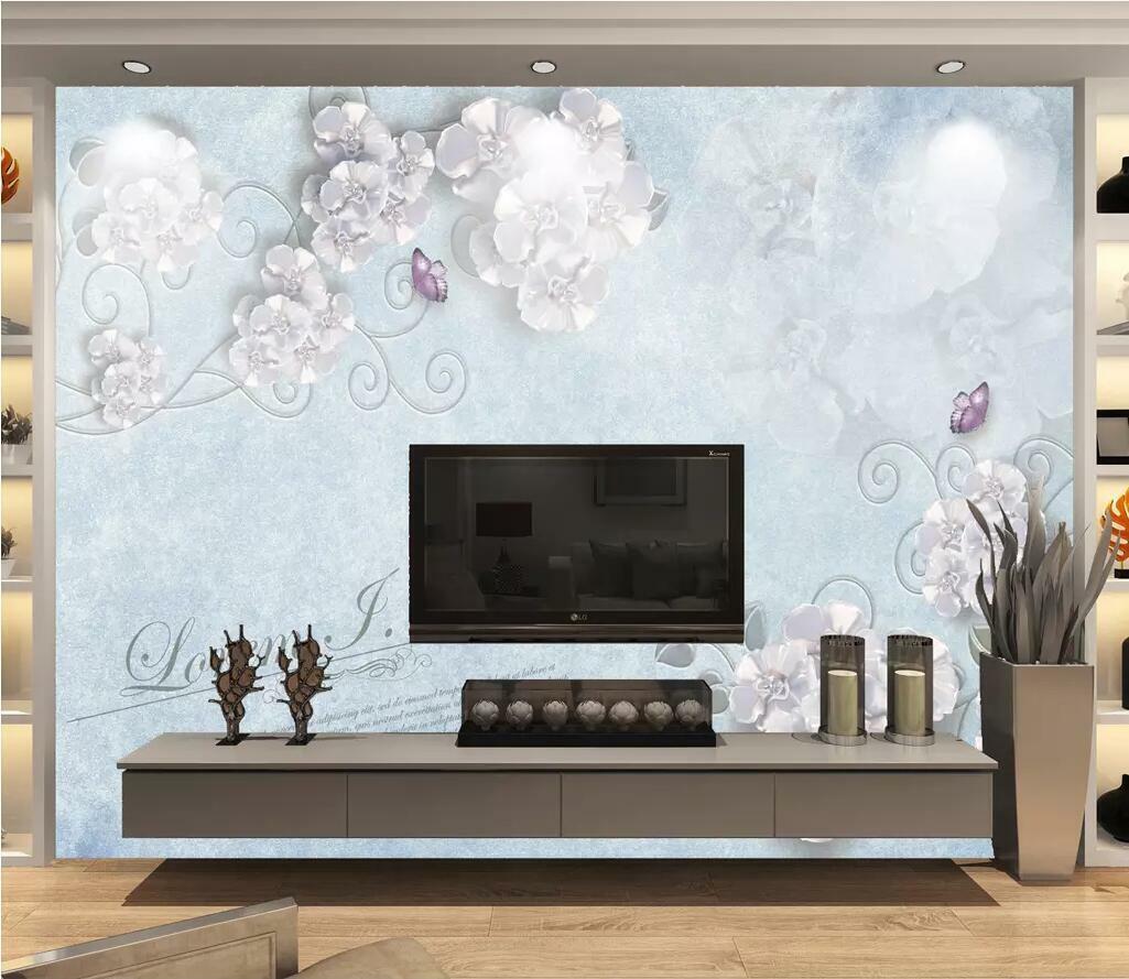 3D Schöne Blaume M2758 Tapete Wandbild Selbstklebend Abnehmbare Aufkleber Amy