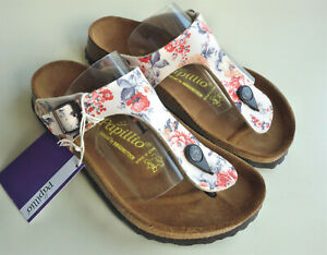 new-PAPILLIO-BIRKENSTOCK-Sandals-GIZEH-BF-Rambling-Rose-Beige-US5-EU36-UK3-5-R