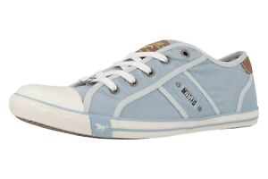 Details zu Mustang Shoes Sneaker in Übergrößen Blau 1099 302 832 große Damenschuhe