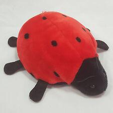 Ty Beanie Buddies Lucky Ladybug 10in RETIRED 11 spot version Ladybird 2000