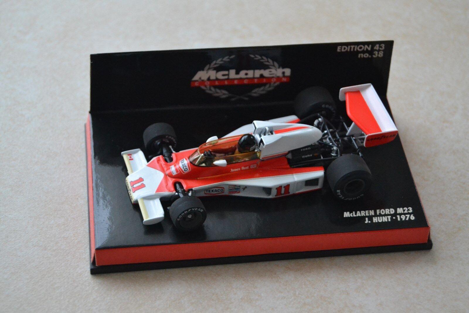 F1 McLaren Ford M23 James HUNT World Champion 1976 (1 43)