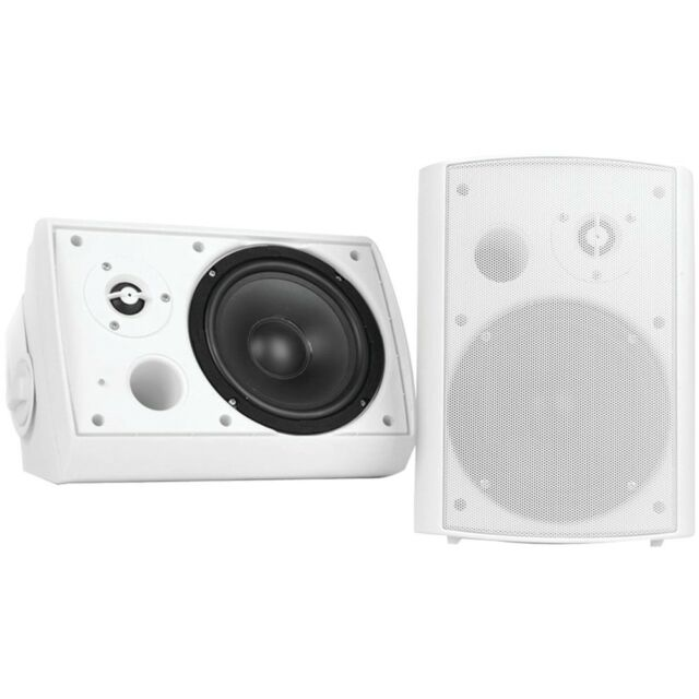 Pyle Pdwr51btwt Wall Mount Bluetooth, Pyle Outdoor Speakers