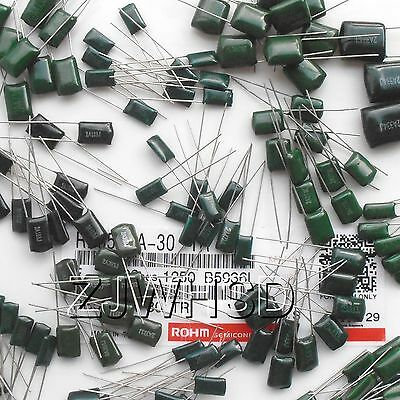 470pF~470nF 280pcs 30values Polyester Film Capacitor Assorted Kit Current 2A
